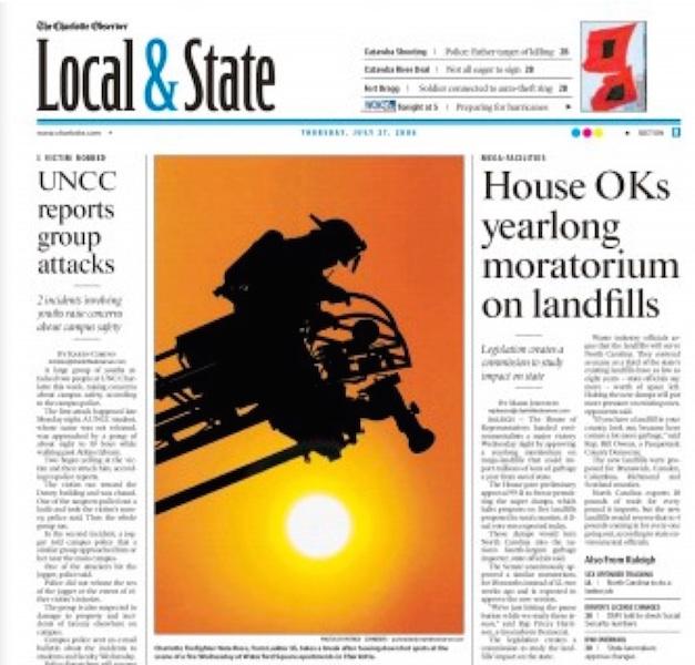 2006 - Partick Schneider - Charlotte Observer