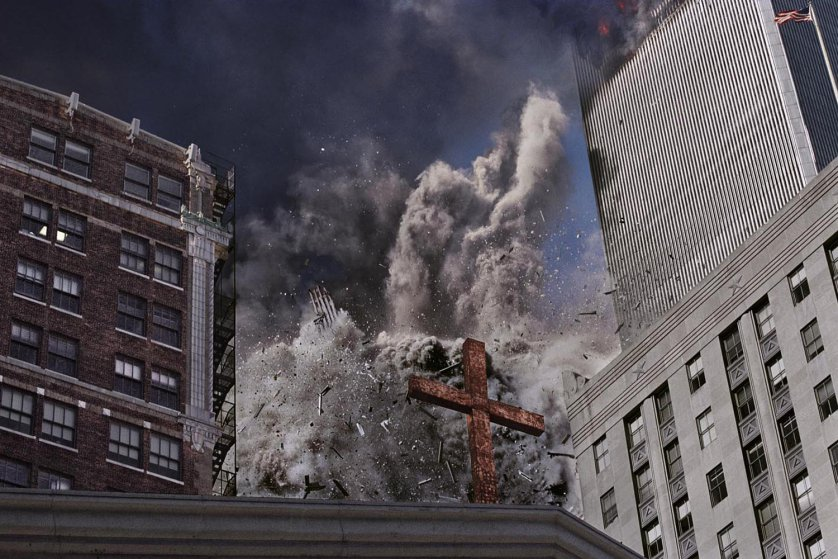 The following photographs were all made on 9/11 and are described here in Nachtwey's own words: ÒIn my mind it all went into slow motion. Everything was floating. I thought I had all the time in the world to make the picture, and only at the last moment realized I was about to be taken out.Ó
